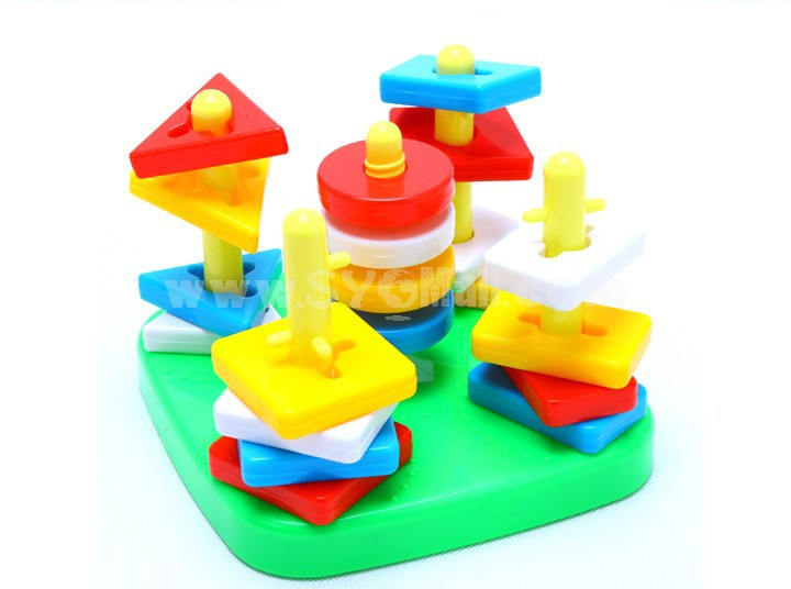 Geometri Graphic Inserting Toy Educational Toy Children's Gift