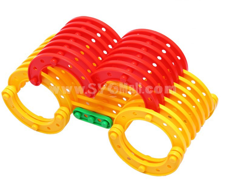 280 pcs Strip-type Building Block Inserting Toy Educational Toy Children's Gift