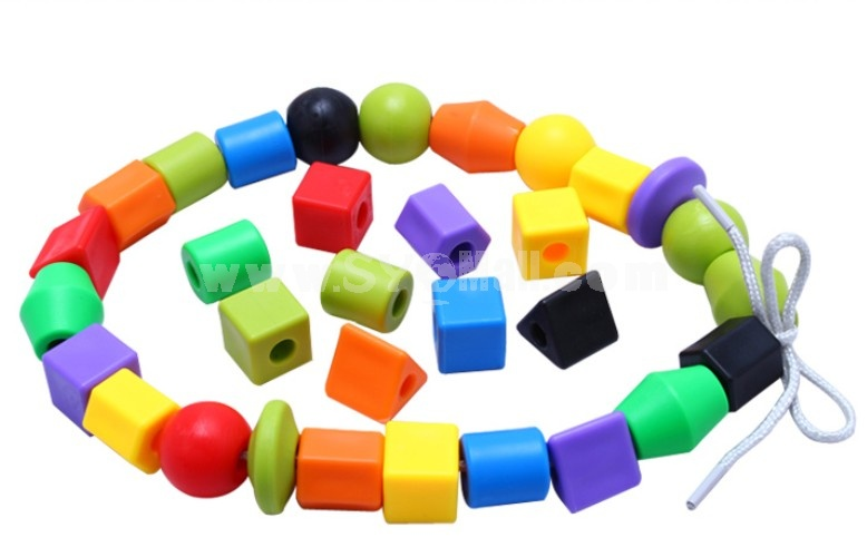 DIY Colorful Beads String Educational Toy Children's Gift
