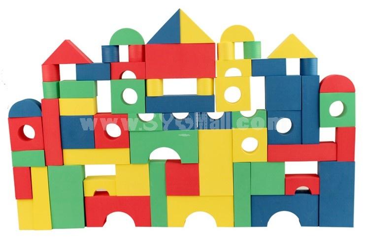 68 pcs Foam Building Block Educational Toy Children's Gift