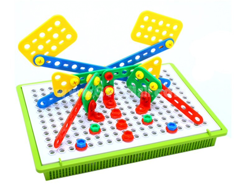 Mechanical Engineering Plastic Inserting Toy Educational Toy Children's Gift