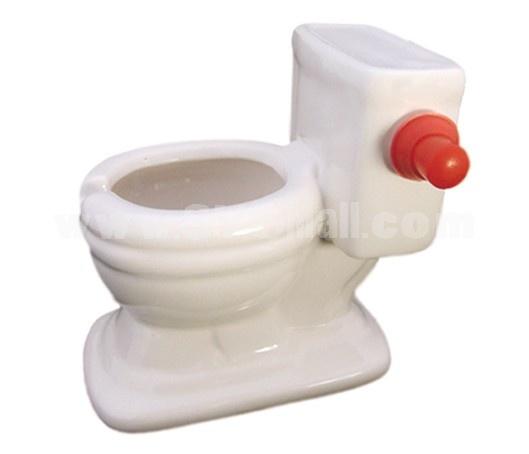 Ceramic Toilet Ashtray
