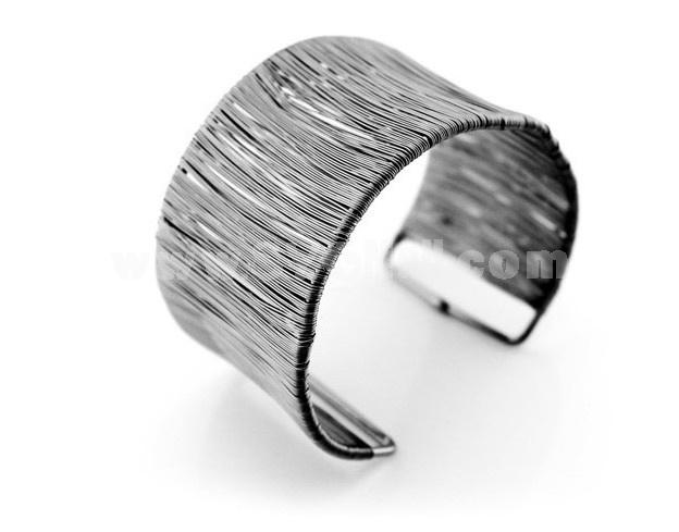 Stylish Electroplating Alloy Bracelet 8024-4