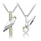 Wholesale - Stylish Rhinestone Pattern Necklace 2051-5