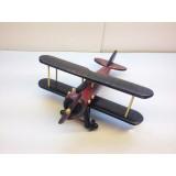 Wholesale - Handmade Wooden Home Decorative Novel Vintage Biplane Model