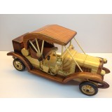 Wholesale - Handmade Wooden Home Decorative Novel Vintage Car Model