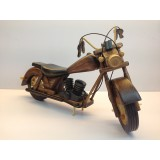 Wholesale - Handmade Wooden Home Decorative Novel Vintage Motorbike Model
