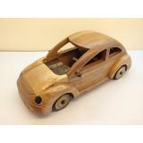 Wholesale - Handmade Wooden Home Decorative Novel Vintage Volkswagen Beetle Model