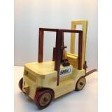 Wholesale - Handmade Wooden Home Decorative Novel Forklift Model