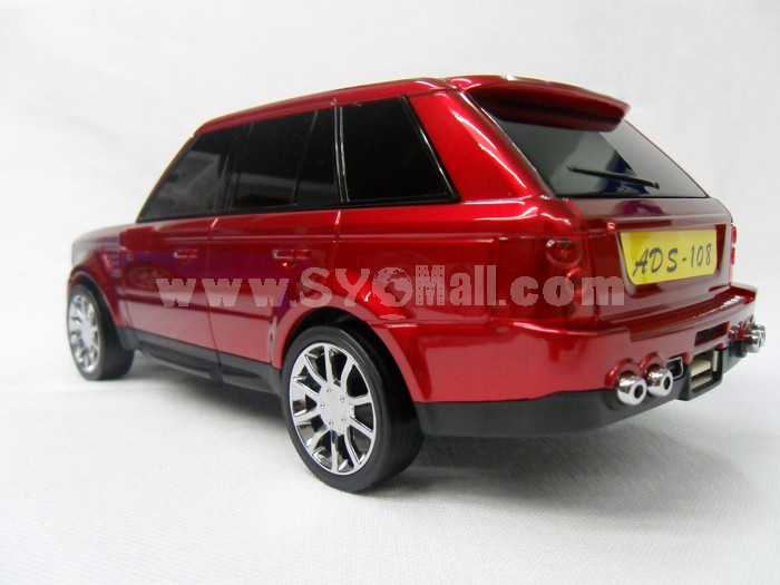 Car Speaker Range Rover Shape with FM Radio and LED Display, Supports MicroSD Card, High Quality Bass