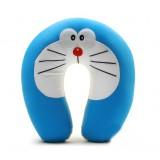 Wholesale - Comfort Foam Particles U Neck Travel Pillow Cute Cartoon Pattern - Doraemon