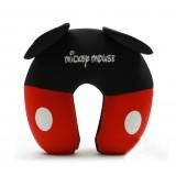 Wholesale - Comfort Foam Particles U Neck Travel Pillow Cute Cartoon Pattern - Mickey Mouse