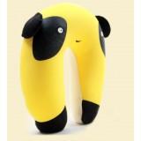 Wholesale - Comfort Foam Particles U Neck Travel Pillow Cute Cartoon Pattern - Yellow Panda