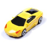 Wholesale - Car Speaker Lamborghini Shaped with FM Radio and LED Display, Supports MicroSD Card, High Quality Bass