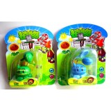 """wholesale - Plants vs Zombies Toy Melon-Pult / Winter Melon ABS Shooting Melon 7cm/2.8"""" Tall"""