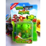 "wholesale - Plants vs Zombies Toys Peashooter ABS Shooting Doll 7cm/2.8"" Tall"