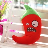 wholesale - Plants VS Zombies Series Plush Toy Cushion Jalapeno 55*26CM/21*10""
