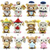 Wholesale - Rilakkuma Plush Toys Stuffed Animals 4Pcs/Lot