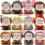 Wholesale - Twelve Chinese Zodiac Cartoon Monkey Plush 12 Pcs