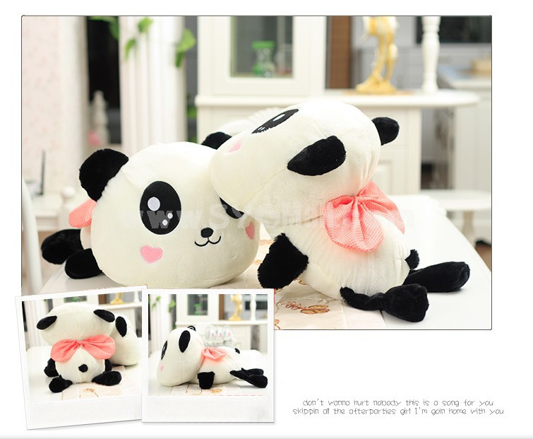 Cute Lying Panda Plush Toy 55cm