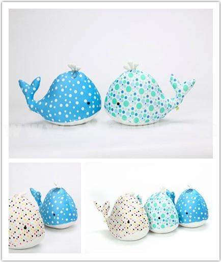 Cute Pot Whale Plush Toy 55cm
