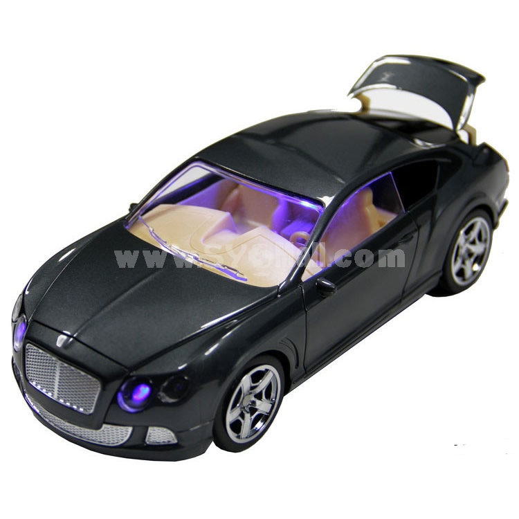 Car Model Speaker with FM Radio and LED Display Supports MicroSD Card