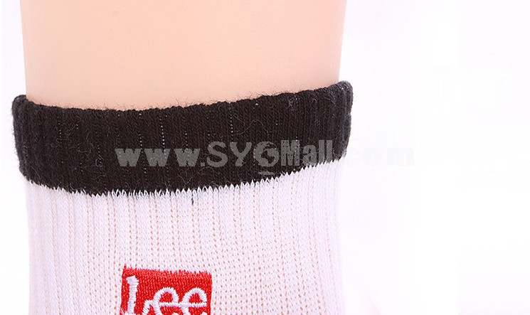 Free Shipping Embroidery Pattern Cotton Business Casual Men's Long Socks Wholesale 20Pairs/Lot One Color