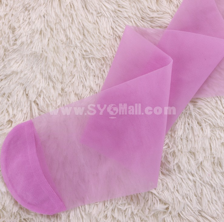 Free Shipping Summer Women Candy Color Velvet Tights/Pantyhose Packaging Separately 6Pairs/Lot