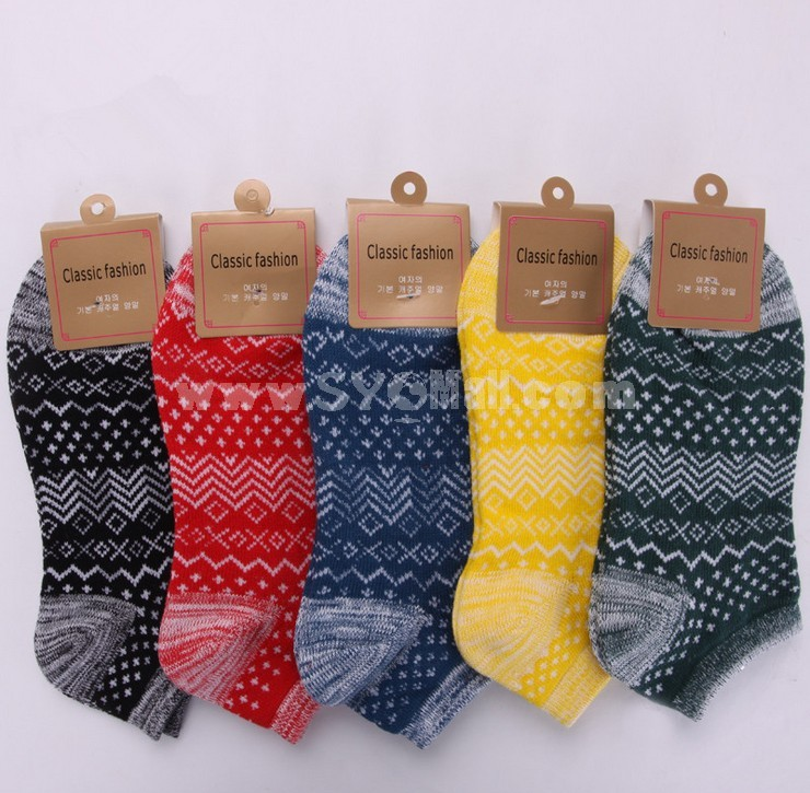 Free Shipping Classic National Style Summer Men's Invisible Soild Color Boat Socks 12 Pairs/Lot One Color