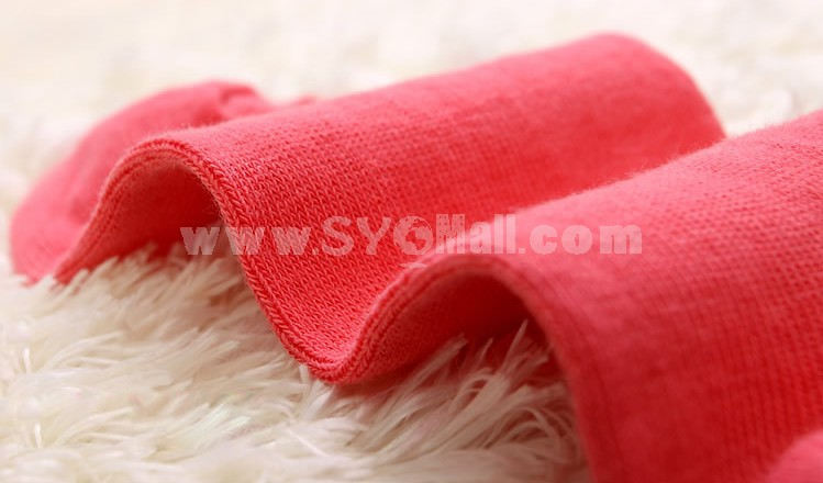Free Shipping LR Women Candy Color Soild Color Cotton CasualLong Socks Wholesale 30 Pairs/Lot (One Color)