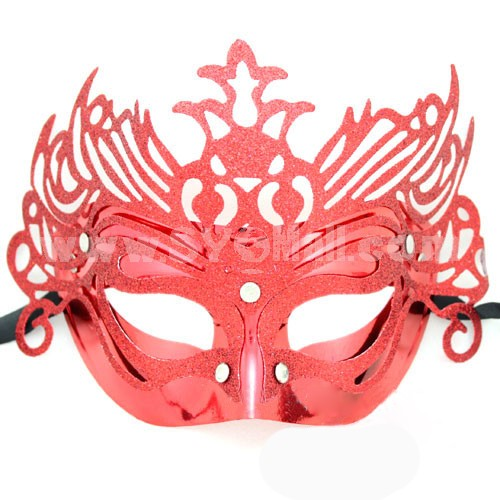 10pcs Halloween/Custume Party Mask with Floral Border Half Face