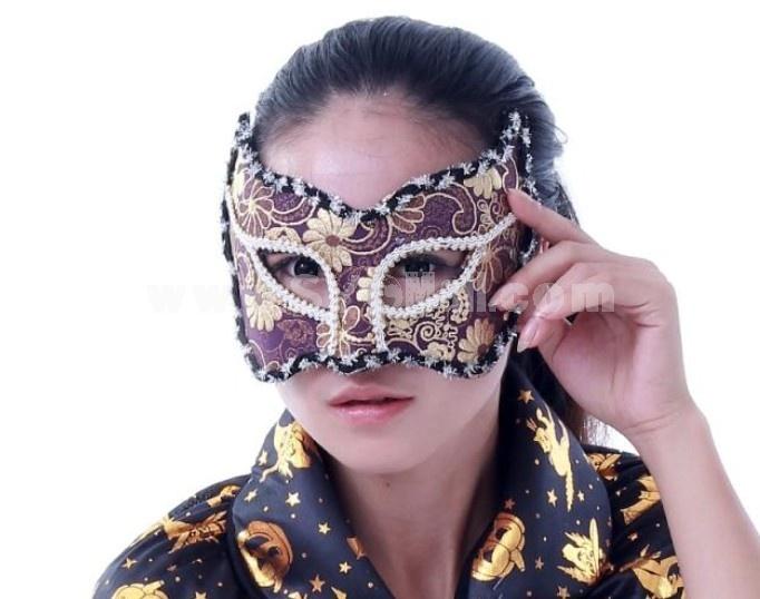 2pcs Halloween/Custume Party Mask Catwoman Mask Half Face