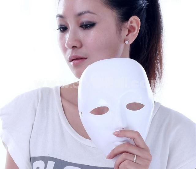 10pcs Halloween/Custume Party Mask Doodled White Mask