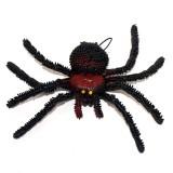 Wholesale - Creative Holloween Prank Toys PE Simulation of Spider 5PCs