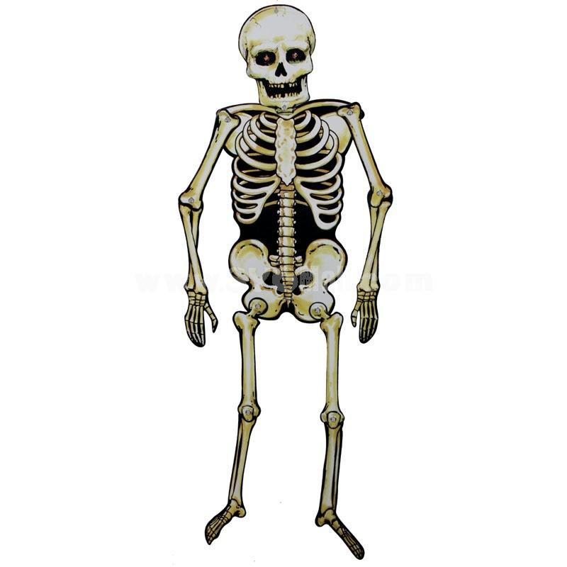 "Creative Holloween Décor Skeleton 82CM/32"""