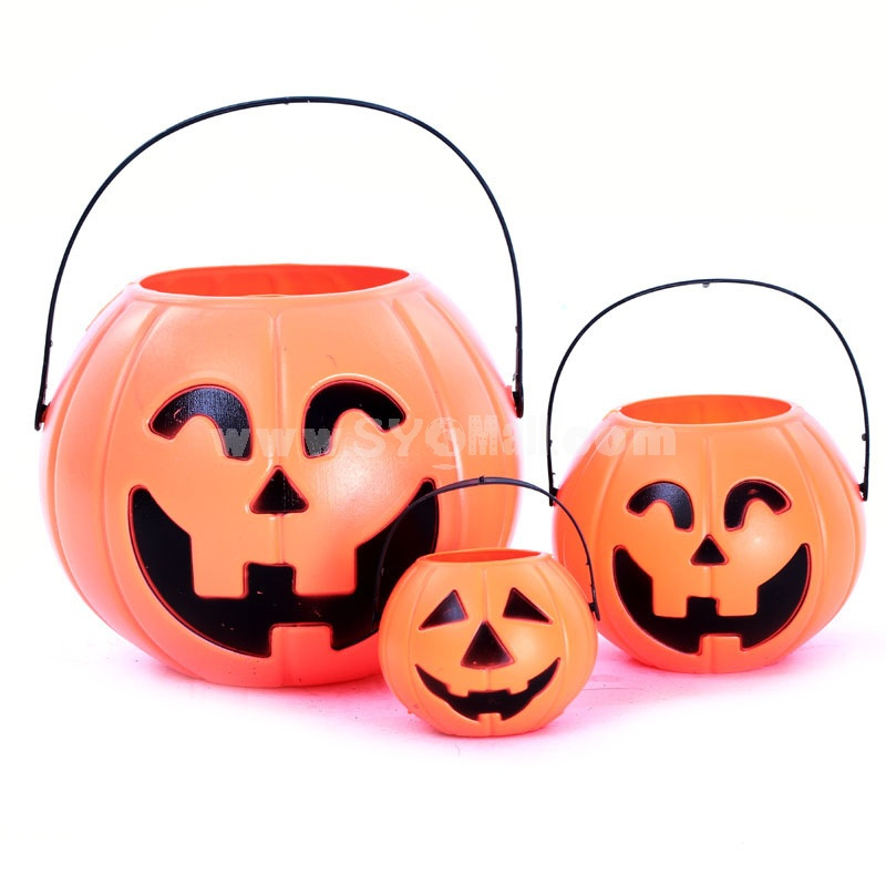 Creative Holloween Pumpkin Barrel Set 3PCs
