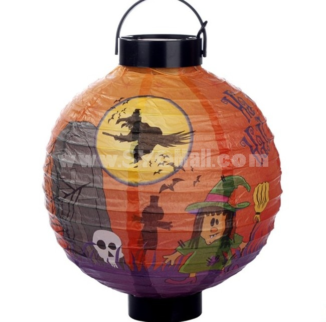Creative Holloween Chinese Style Paper Lantern 2PCs
