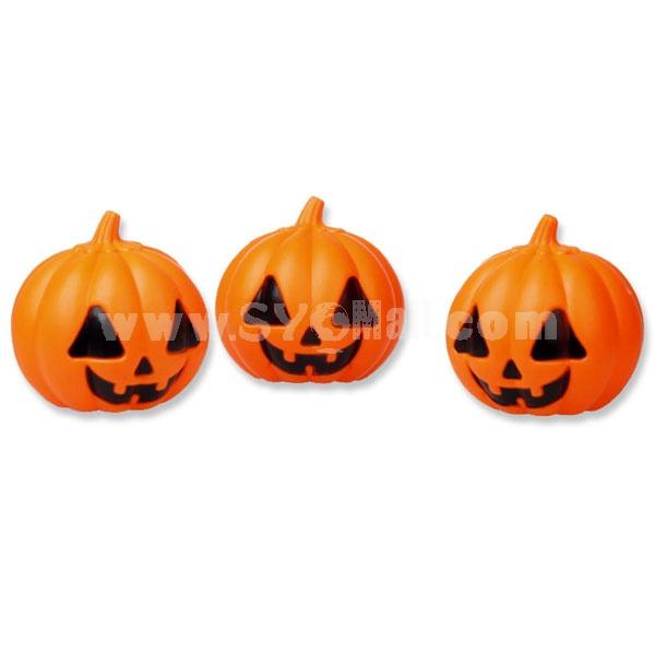 Creative Holloween Colored Pumpkin Night Light 2PCs