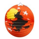 Wholesale - Creative Holloween Paper Pumpkin Chinese Style Lantern 2PCs