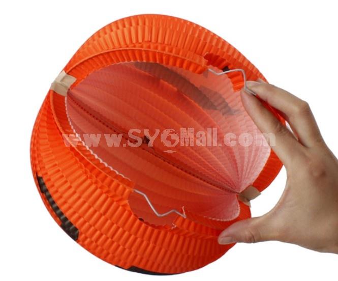 Creative Holloween  Paper Pumpkin Chinese Style Lantern 2PCs