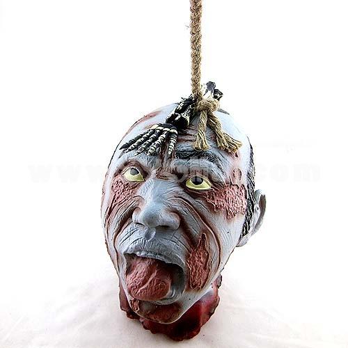 Creative Holloween Bar Décor Trick Toy Head