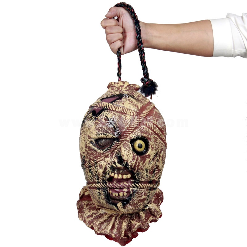 Creative Holloween Bar Décor Trick Toy Hanging Head