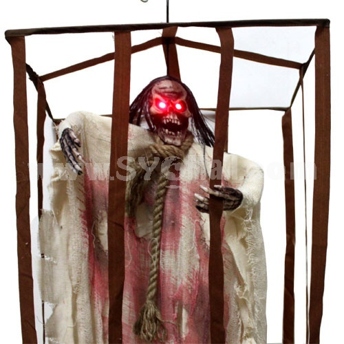 Creative Holloween Trick Toy Voice Control Imprisoned Ghost
