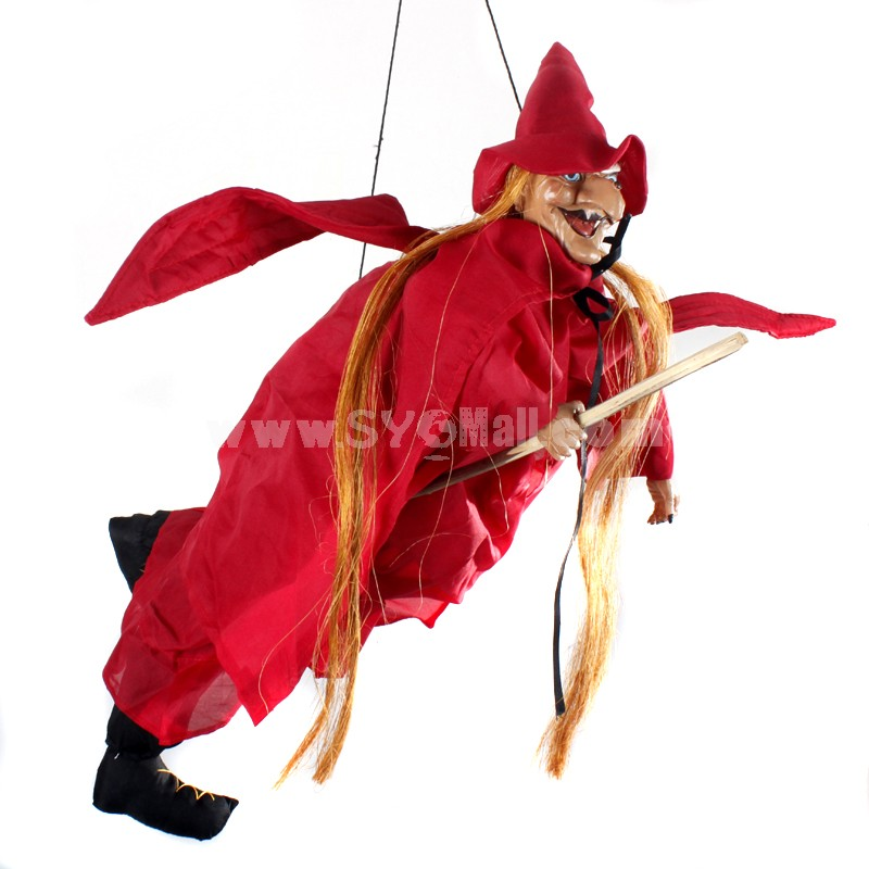 Creative Holloween Trick Toy Voice Control Witch