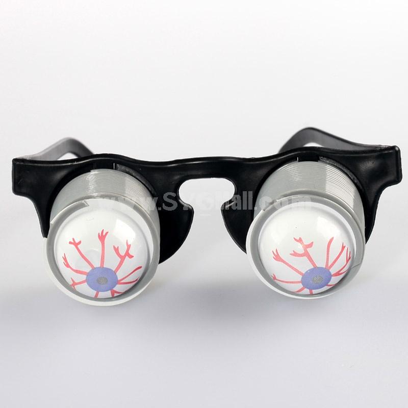 Creative Holloween Trick Toy Popping up Eyeball Glass