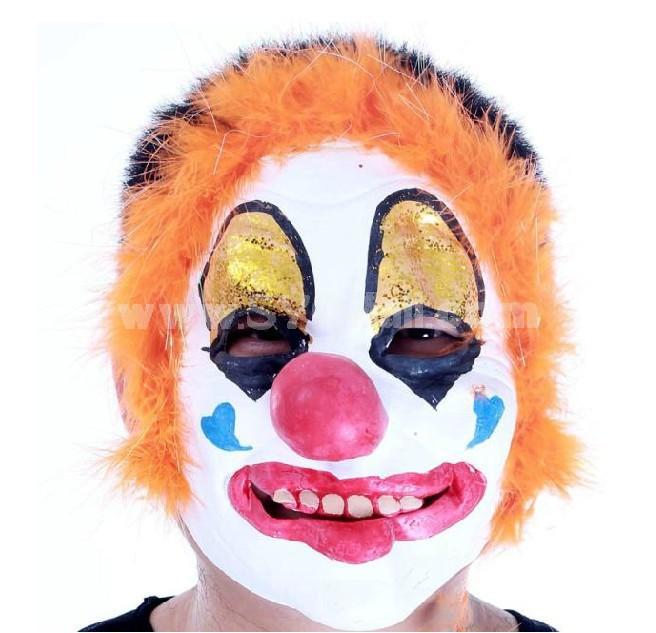 2PCS Halloween/Christmas Masquerade Mask Custume Mask -- New Arrivial Clown Mask