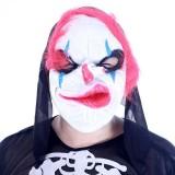 Wholesale - Halloween/Christmas Masquerade Mask Custume Mask - Horrible Expression Latex Clown Mask