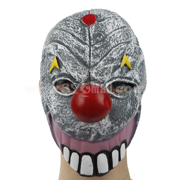 Halloween/Christmas Masquerade Mask Custume Mask -- Molar Clown Mask
