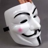 Wholesale - 5PCS Halloween/Christmas Masquerade Mask Custume Mask - V for Vendetta Mask