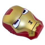 Wholesale - Halloween/Christmas Masquerade Mask Custume Mask - Luminous Iron Man Mask